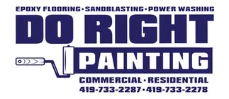 Do Right Painting - Logo