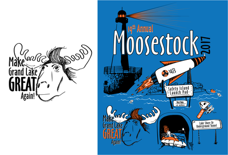 Moosestock - T-Shirt