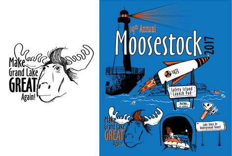 Moosestock - T-Shirt