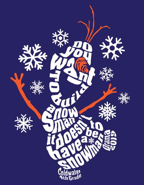 Frozen the musical - Shirt Concept