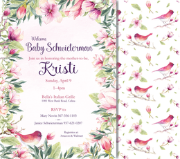Baby Shower Invitation - Kristine Schwieterman