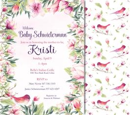 Baby Shower Invitation - Kristine Schwieterman