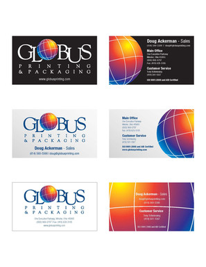 Globus Business Cards
