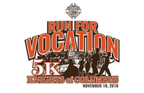 Knights of Columbus Run for Vocation - T-Shirt