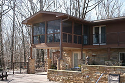 Custom home remodel, Loudon, Tennessee