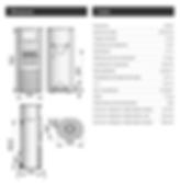 Données techniques Poêle à bois HETA Scan-Line 820 Côtés vitrés avec Chauffe-Plat