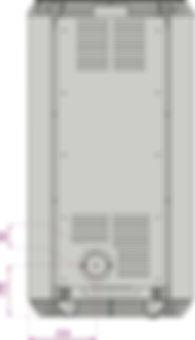 Schéma technique poêle à ganulés silencieux sans électricité JESSCA NATURAL LAMINOX IDRO(2)