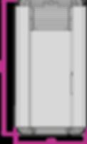 Schéma technique poêle à ganulés silencieux sans électricité JESSCA NATURAL LAMINOX IDRO (1)