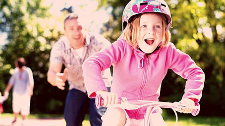 Lessons learned from riding a bike