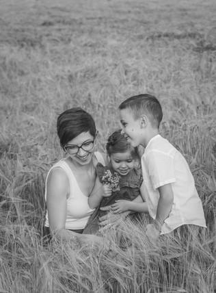 fotka maminky s dětmi