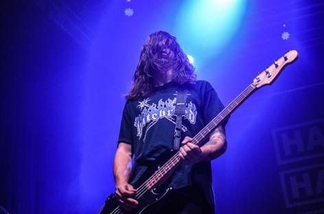Basák  hardcore metalové kapely Harms Way Casey Soyk