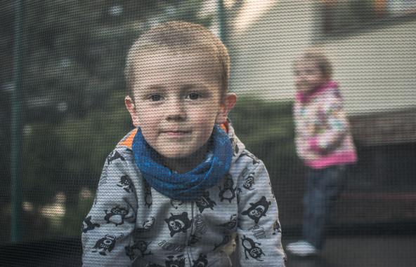 Fotografie dětí, které si hrají