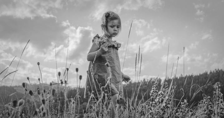 fotografie holčičky