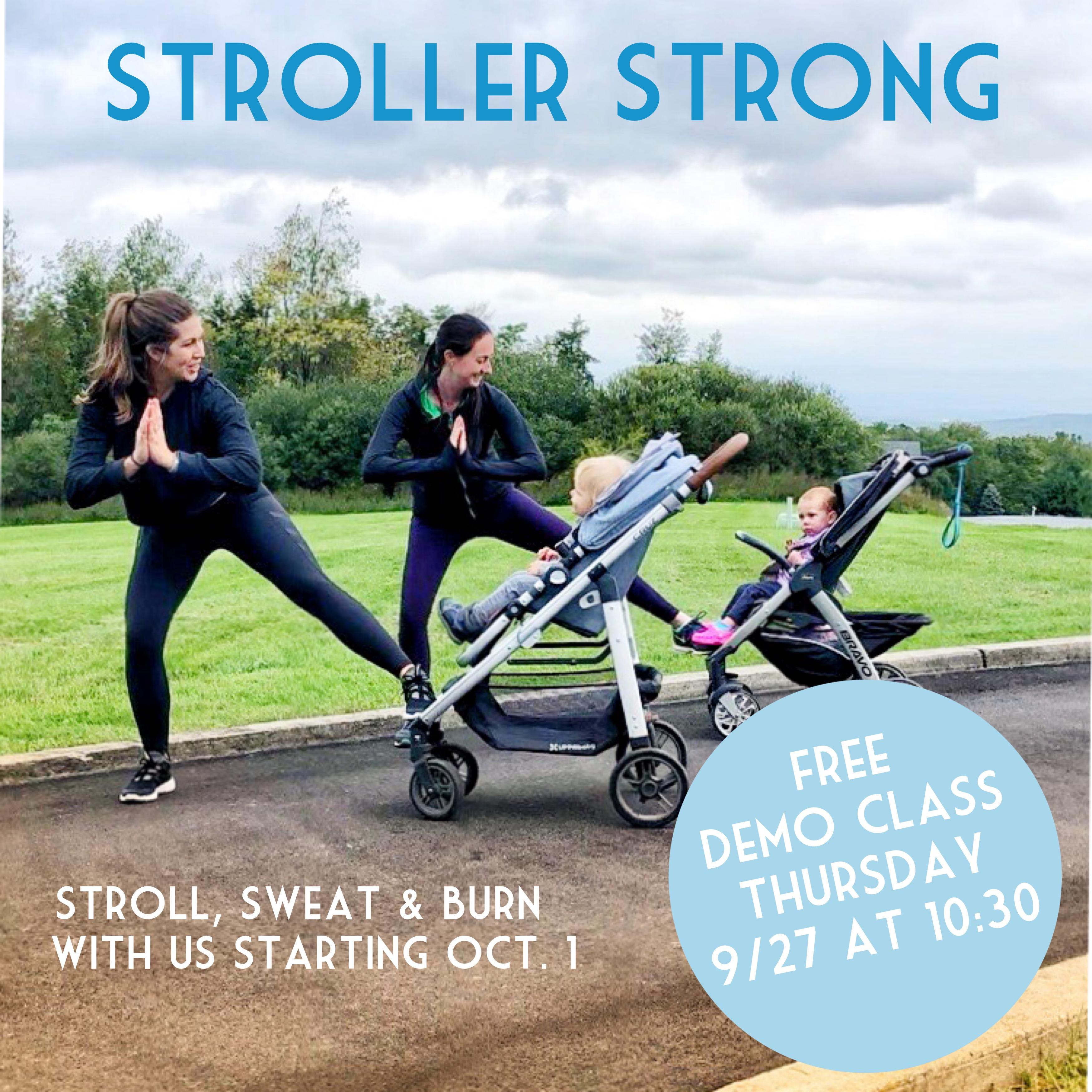 stroller strong warwick