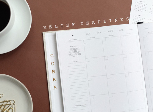 COBRA Updates for Employers on COVID-19 Relief Deadlines