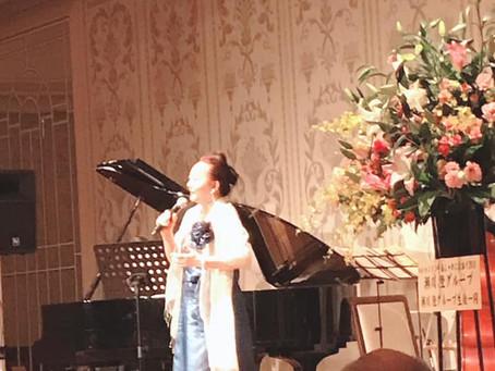 岡田慶子さんのシャンソンの会に行ってきました