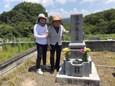 92歳の母とお墓まいり