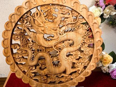 龍は守り神 玄関にピッタリ