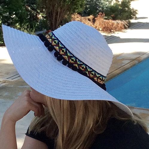 Καπέλο Boho σε 3 χρώματα