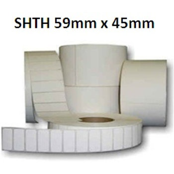 SHTH - Adhesive thermal barcode labels 59mm x 45mm (5.000pcs)