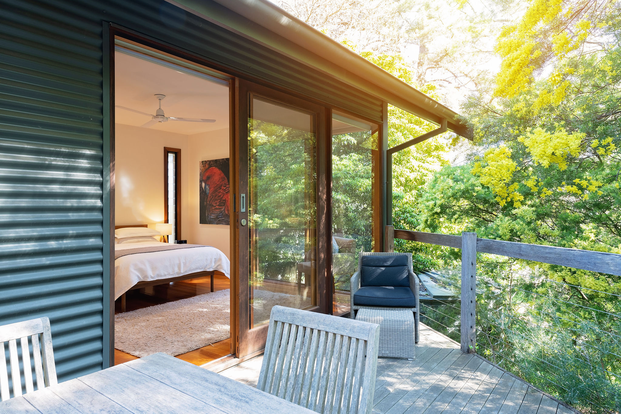 dunes deck to bedroom
