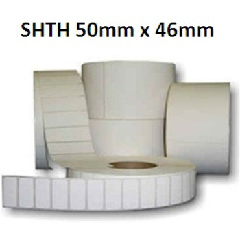 SHTH - Adhesive thermal barcode labels 50mm x 46mm (5.000pcs)