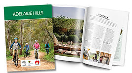 Adelaide Hills Visitor Guide Cover and S