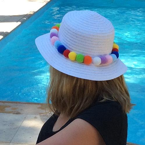 Καπέλο Multi Pom-Pom
