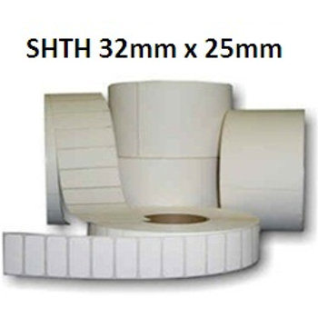 SHTH - Adhesive thermal barcode labels 32mm x 25mm (5.000pcs)