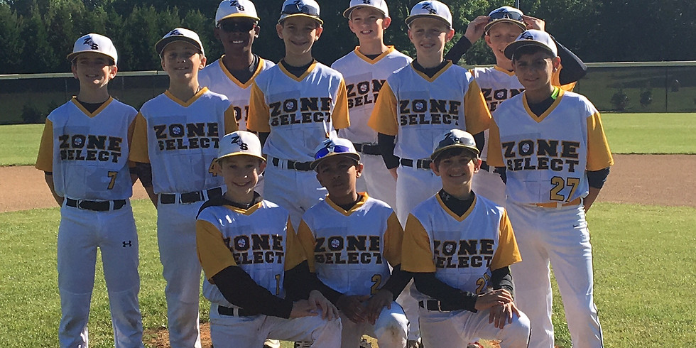Fall 2017 Zone Select Tryouts 9, 10 and 11U