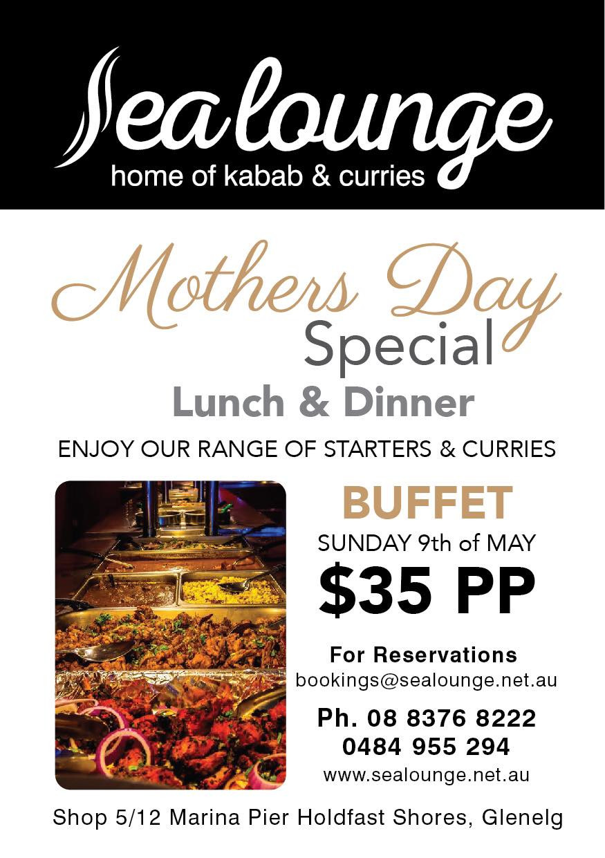 Mother's Day Special Lunch and Dinner at Sea Lounge Restaurant