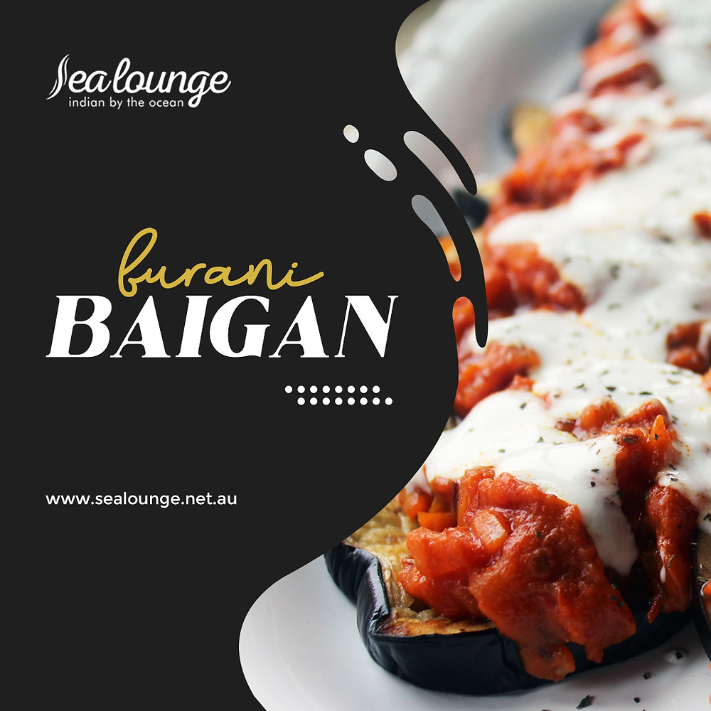 A healthy and flavourful appetiser, Burani Baigan is a must-try for all eggplant lovers!  Book your table now or contact Sea Lounge for more information!