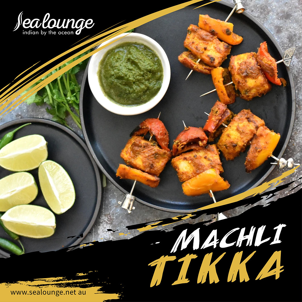 Try this amazing Machli Tikka from yours only. Book your table at Sea Lounge now and enjoy the best Indian restaurant in Glenelg, SA.