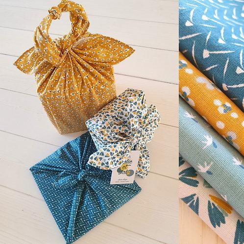 Furoshiki - Emballage cadeau tissu éco-responsable
