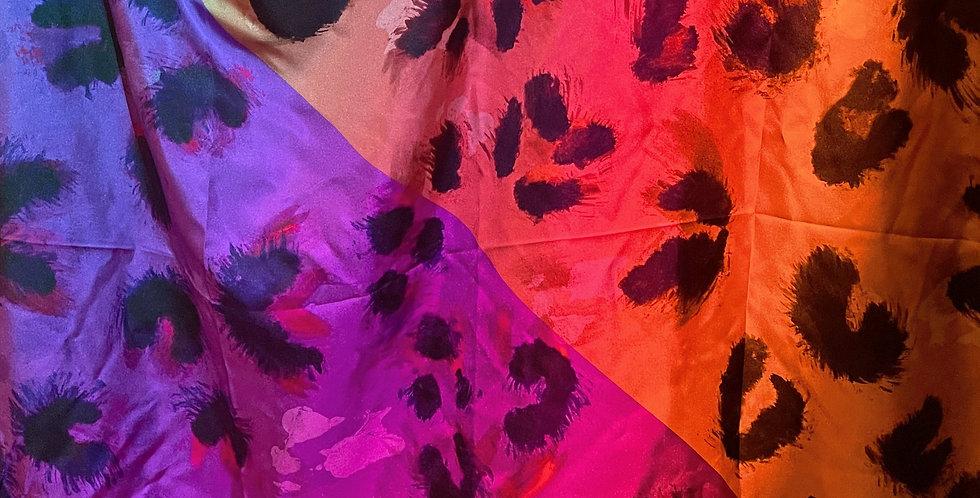Le Boi Silk Scarf: Urban Jungle