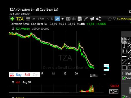 Direxion Small Cap Bear 3x
