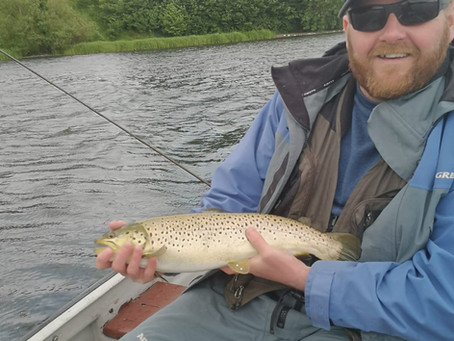 Linlithgow Loch Catch Report -7th June