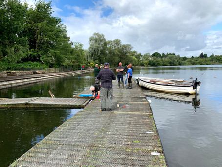 Linlithgow Loch's New Jetty - 28/06/2020