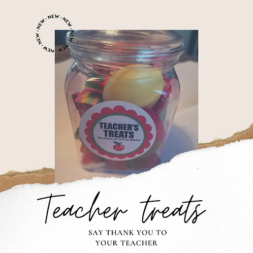 Teacher's Treat Jar