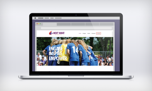 responsive design sport logo ux