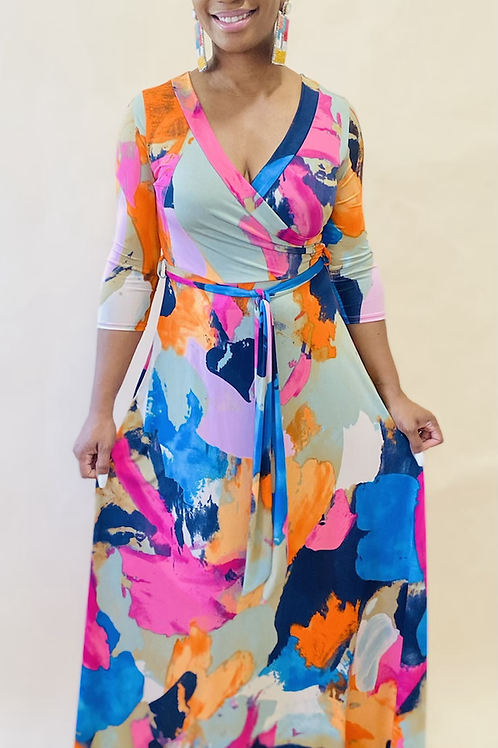 She is Beautiful Maxi Dress