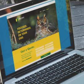Trailhead landing page web design