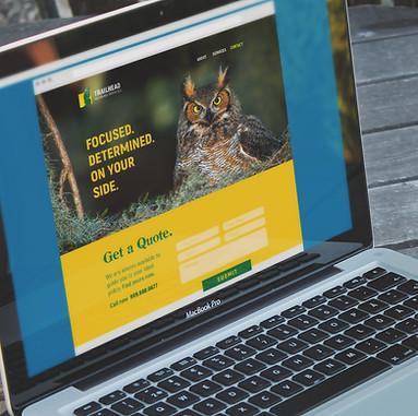 Web design for Trailhead Insurance