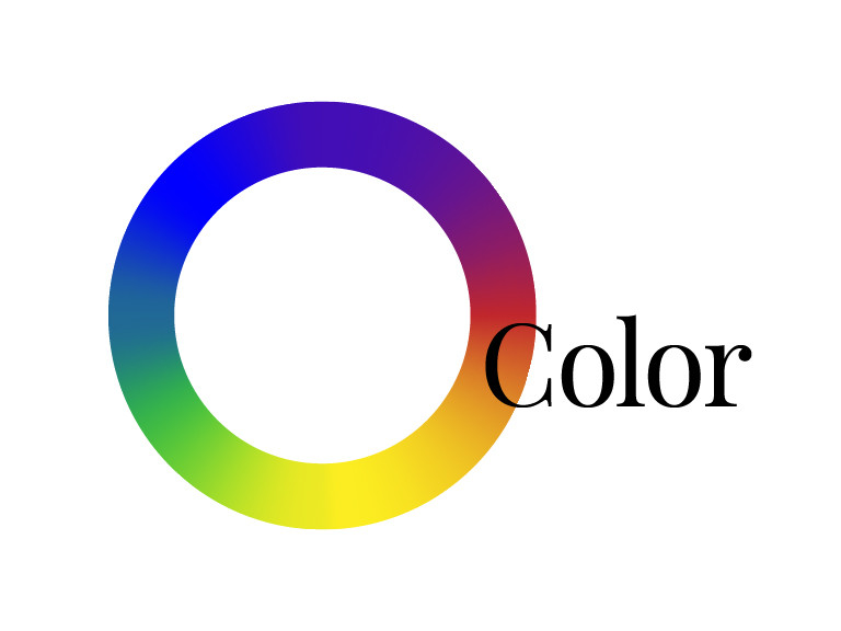The color wheel connects all colors along hue, value, and saturation