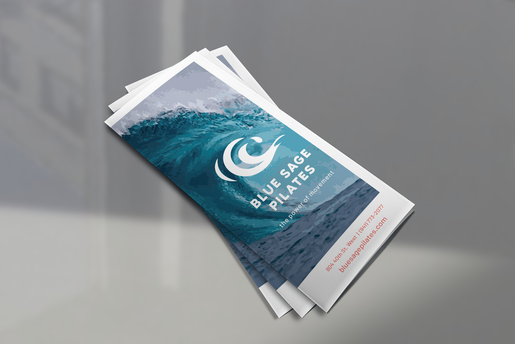 visual communication water logo graphic design brochure
