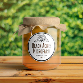 Label design for farmer