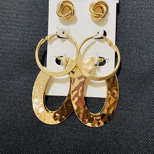 Gold Multi Pack Earrings