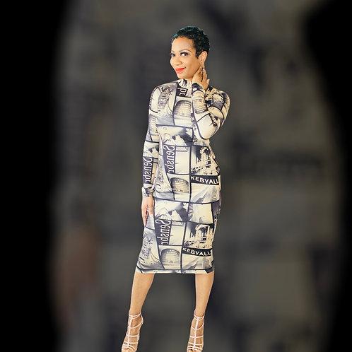 T Top News Dress