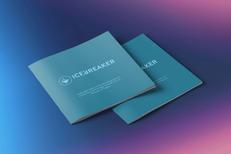 Brand identity design booklet print