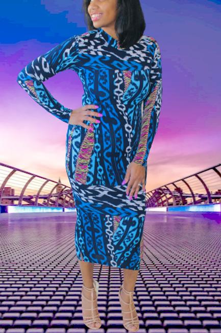 Color Vibez Midi Dress